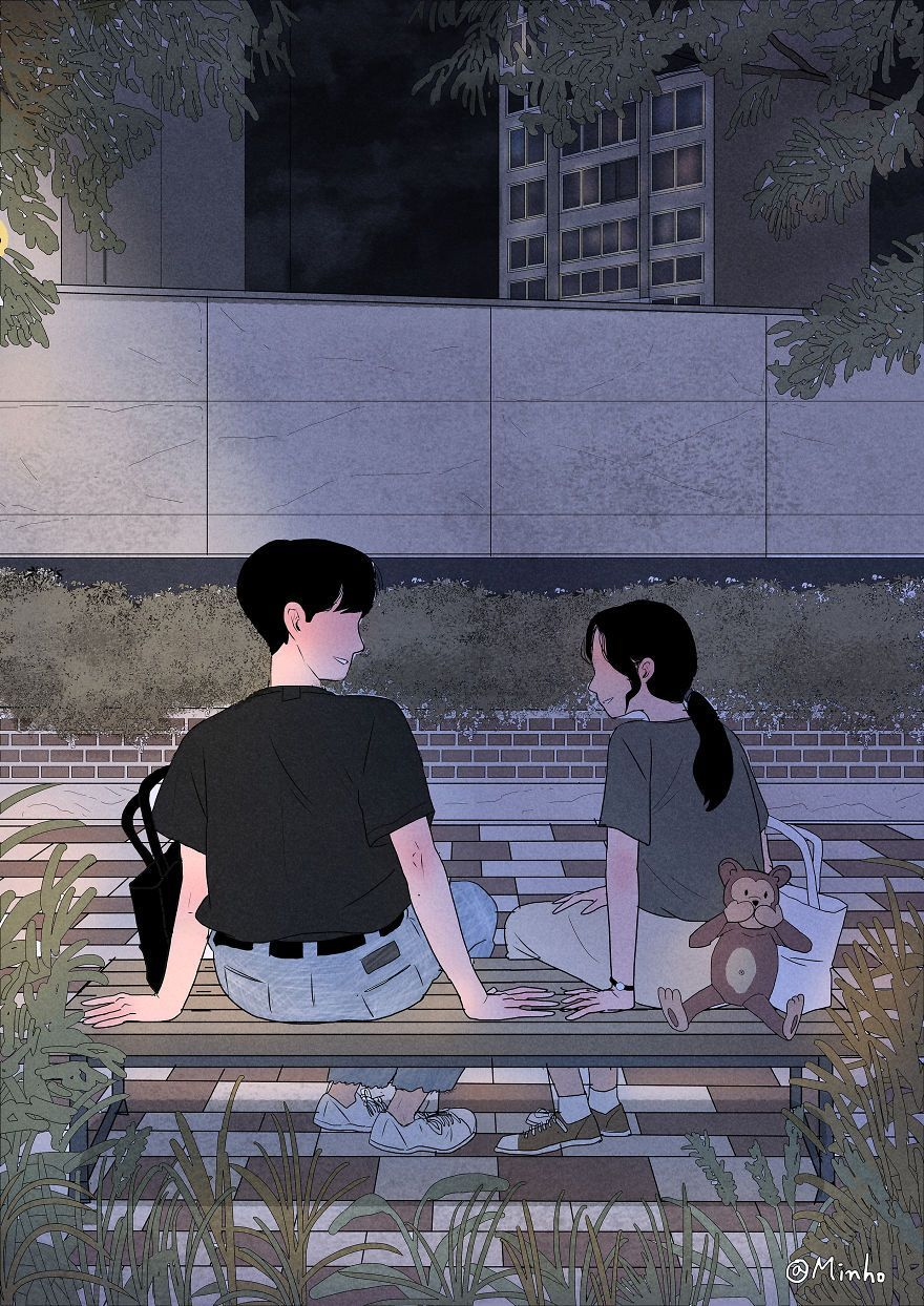 Aesthetic Anime Couple Wallpapers Top Free Aesthetic Anime Couple Backgrounds Wallpaperaccess