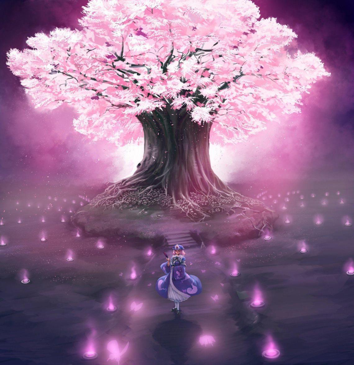 15 Wallpaper Anime Sakura Flower Orochi Wallpaper