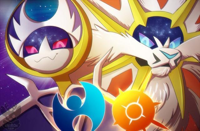 Sun and Moon Legendaries Pokemon Wallpapers - Top Free Sun and