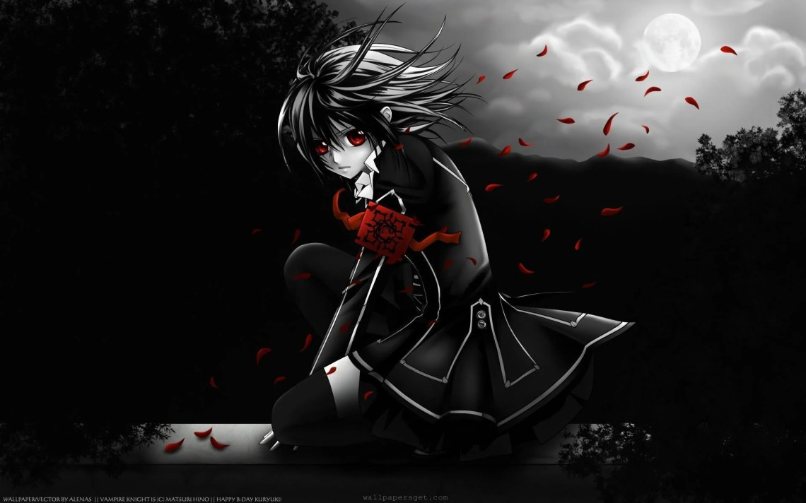 Anime Vampire Wallpapers Top Free Anime Vampire Backgrounds Wallpaperaccess