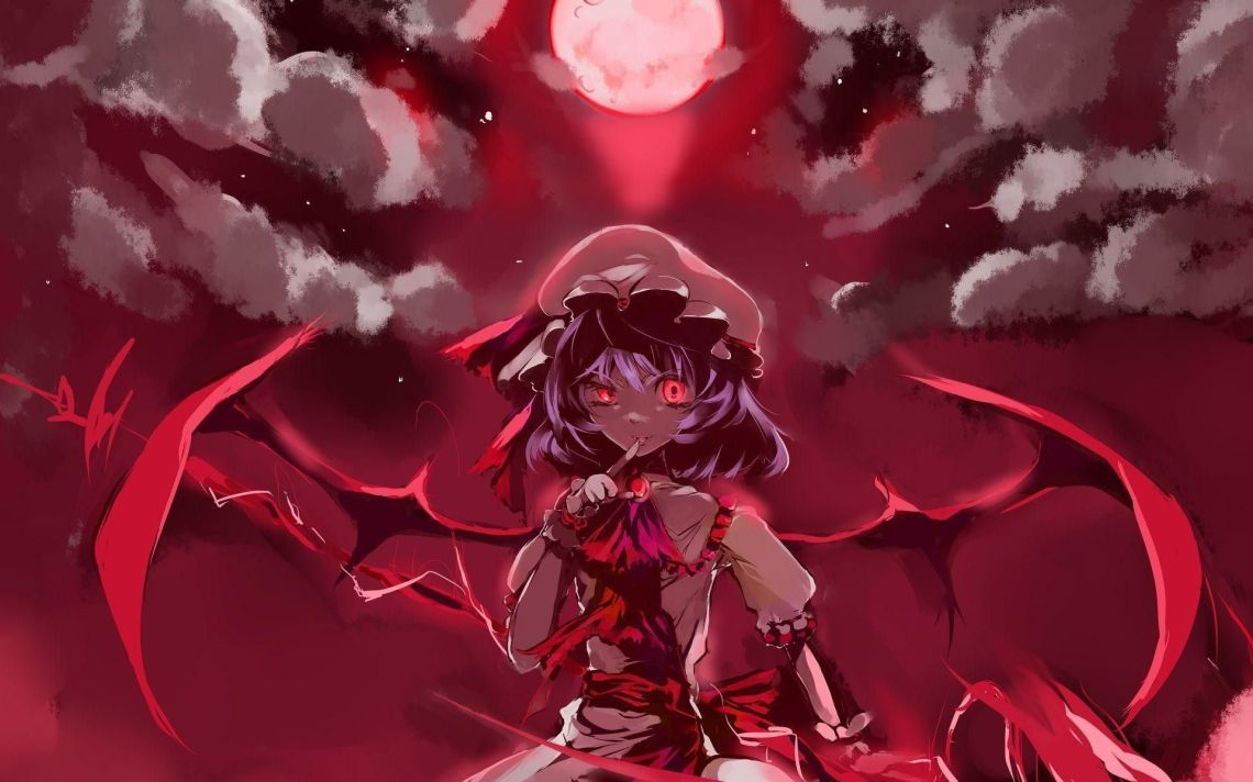 Anime Vampire Girl Wallpapers Top Free Anime Vampire Girl Backgrounds Wallpaperaccess