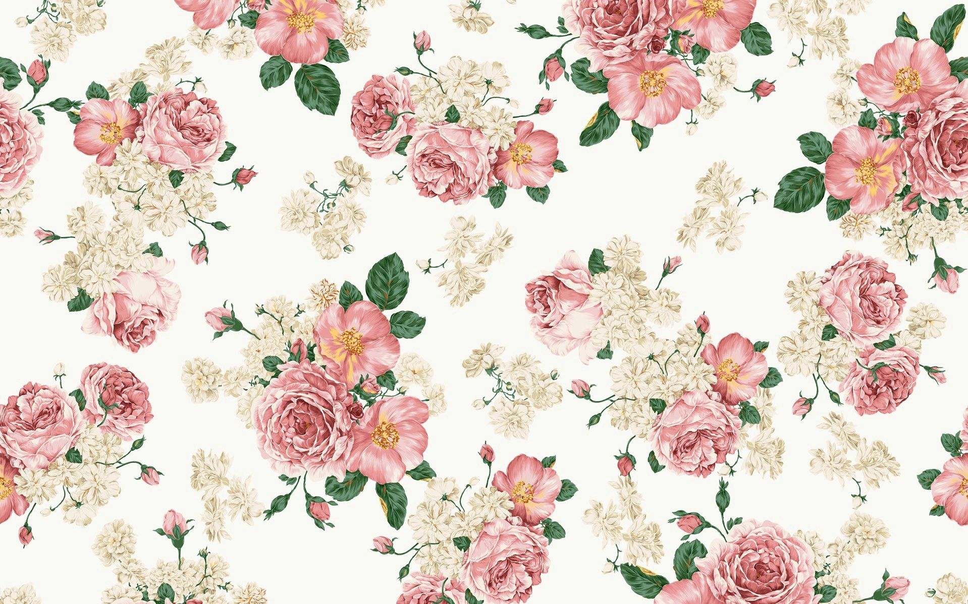 Vintage Flower Wallpapers Top Free Vintage Flower Backgrounds Wallpaperaccess