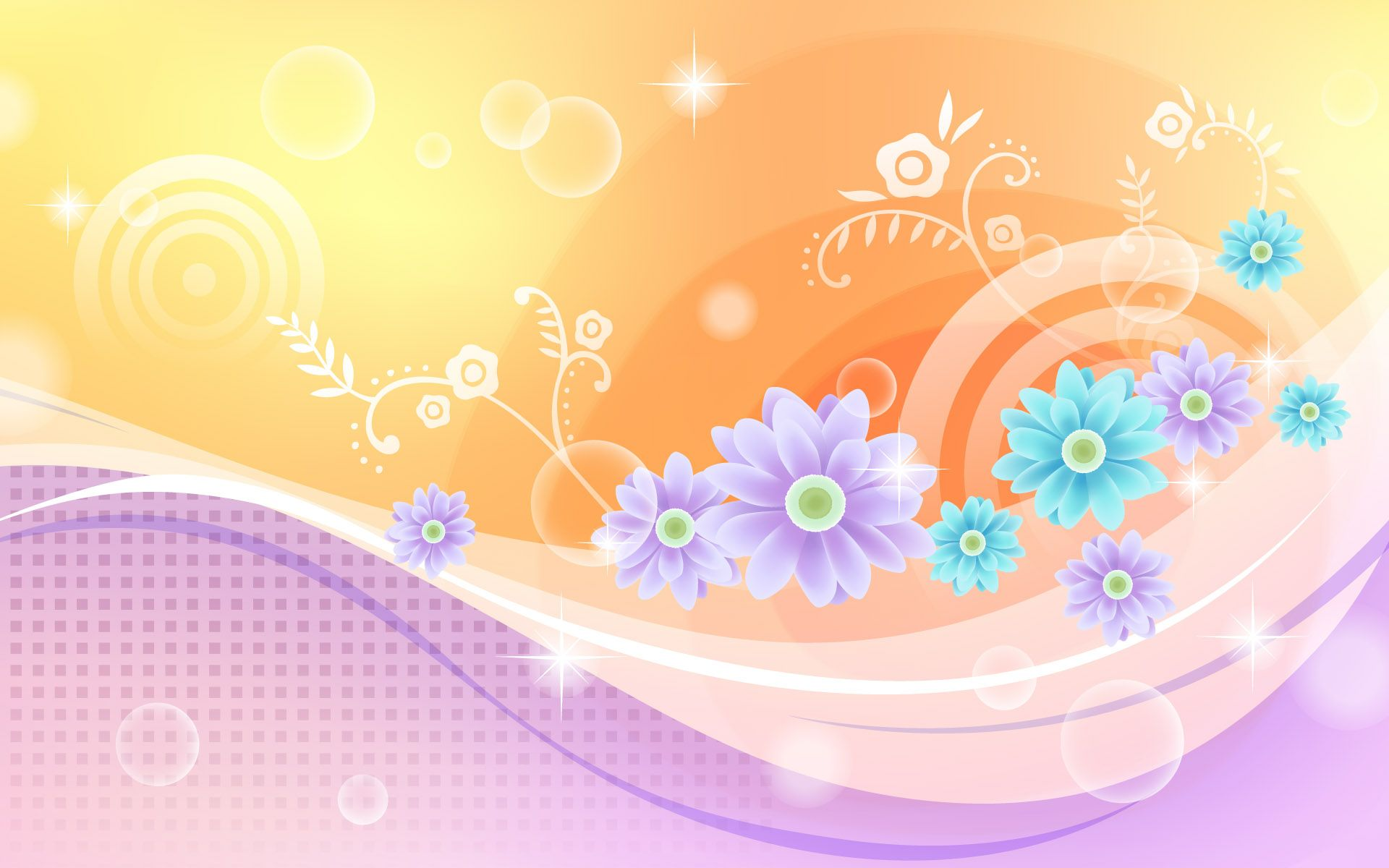 Abstract Floral Wallpapers Top Free Abstract Floral Backgrounds Wallpaperaccess
