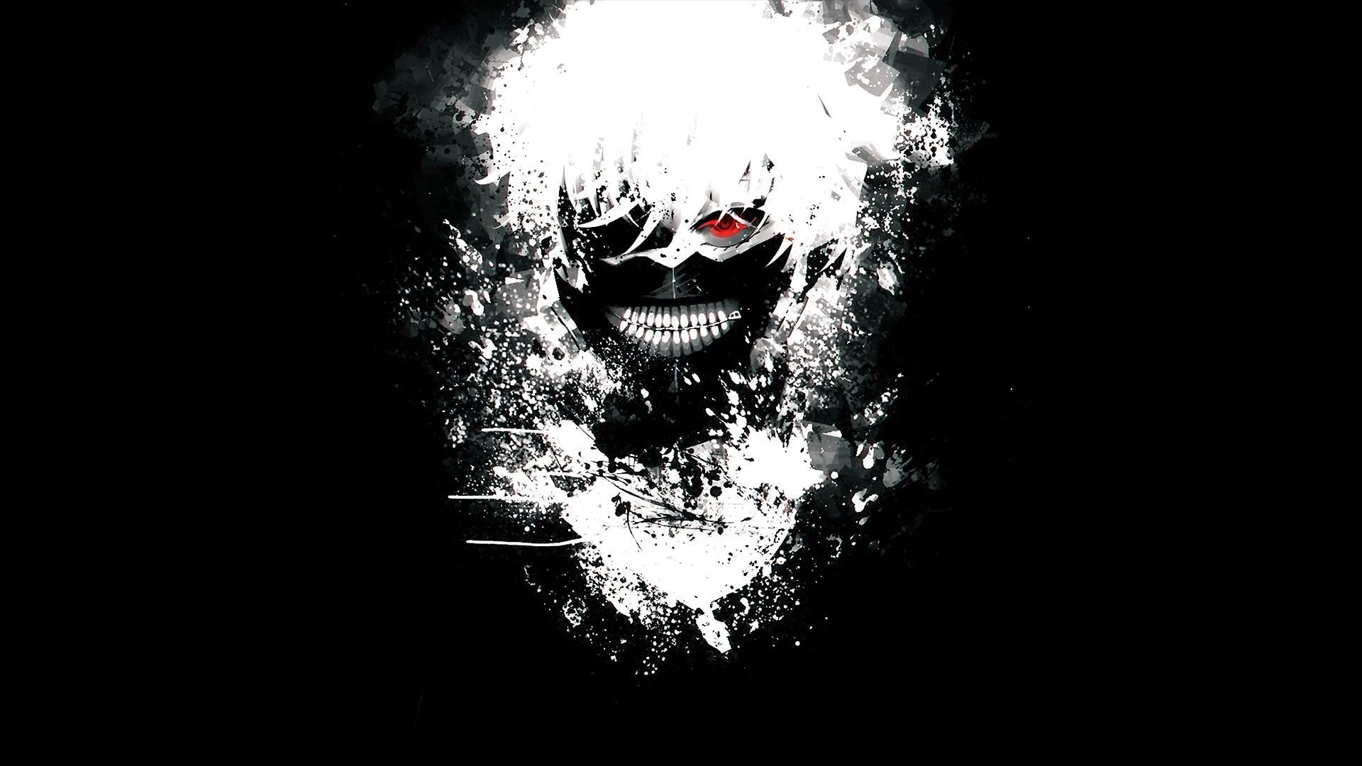 Tokyo Ghoul Black And White Wallpapers Top Free Tokyo Ghoul Black And White Backgrounds Wallpaperaccess