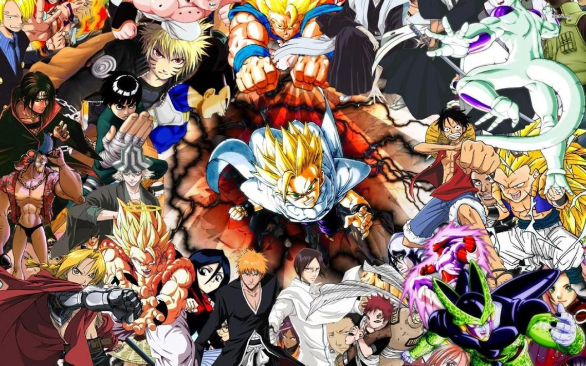 Cool Anime Character Wallpapers Top Free Cool Anime Character Backgrounds Wallpaperaccess