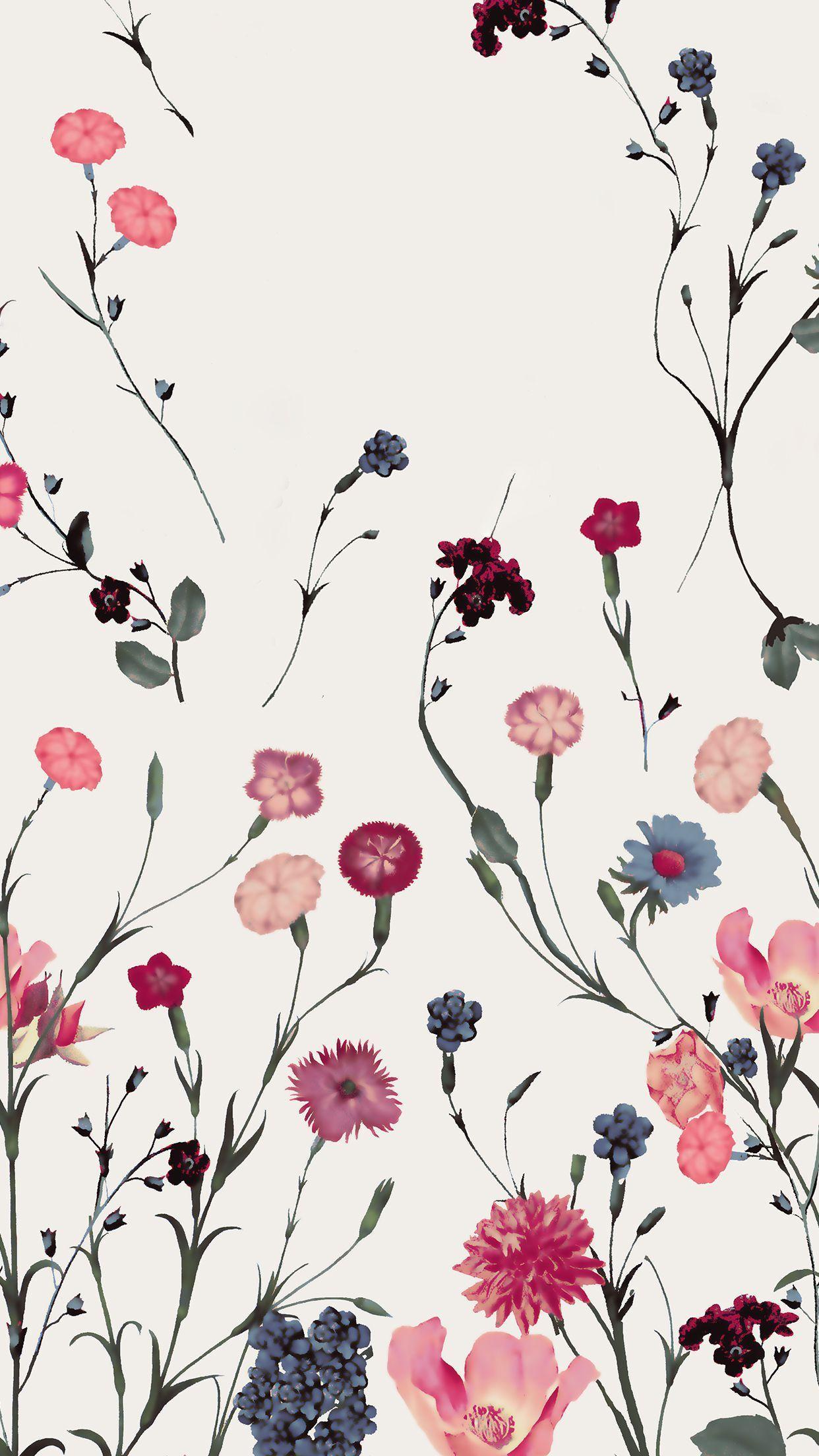 Vintage Floral Iphone Wallpapers Top Free Vintage Floral Iphone Backgrounds Wallpaperaccess