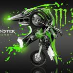 Monster Dirt Bike Wallpapers Top Free Monster Dirt Bike Backgrounds Wallpaperaccess