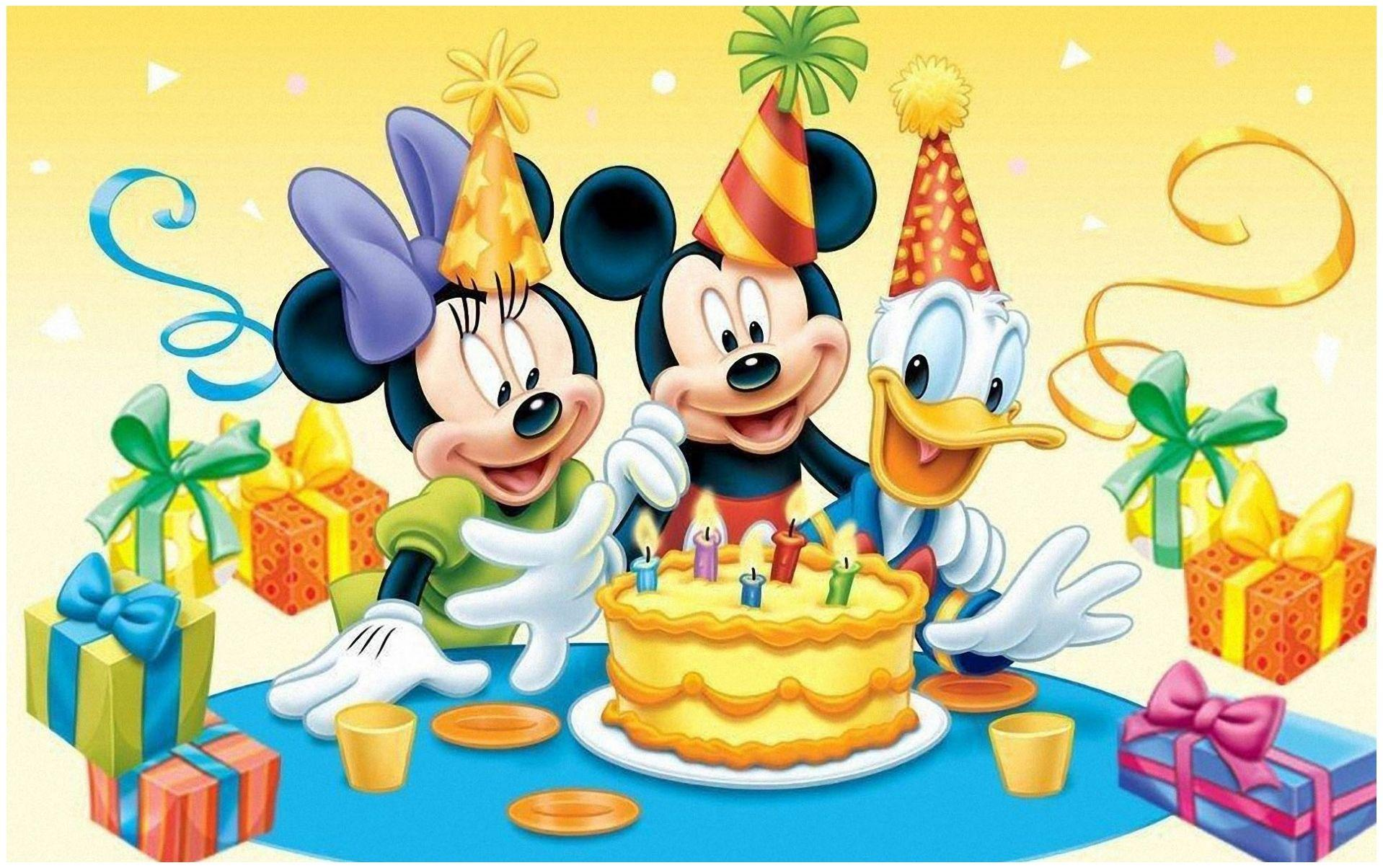 Disney Birthday Wallpapers Top Free Disney Birthday Backgrounds Wallpaperaccess