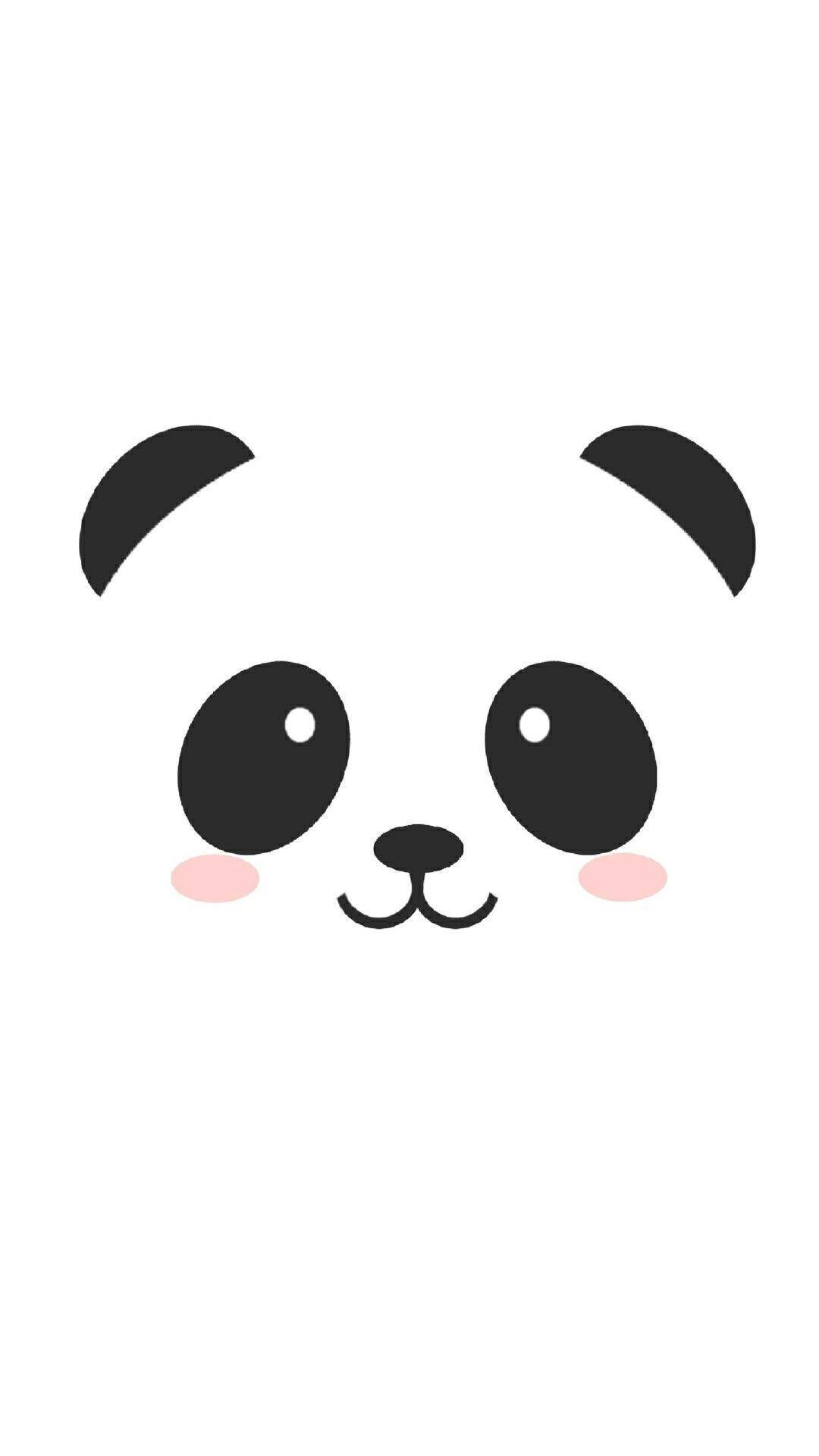Kawaii Home Screen Panda Wallpaper ...