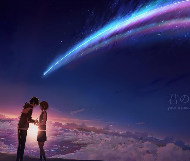 2480x3508 Kimi No Na Wa Your Name Brilliant Movie A Bit Confusing But