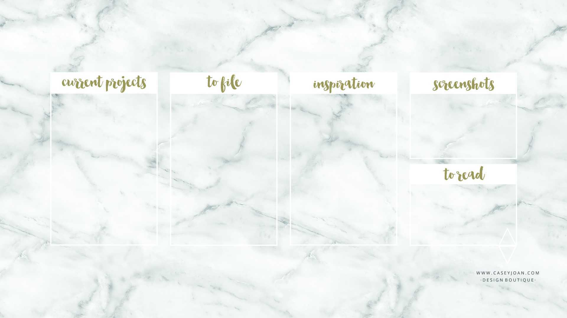 White Marble Desktop Wallpapers