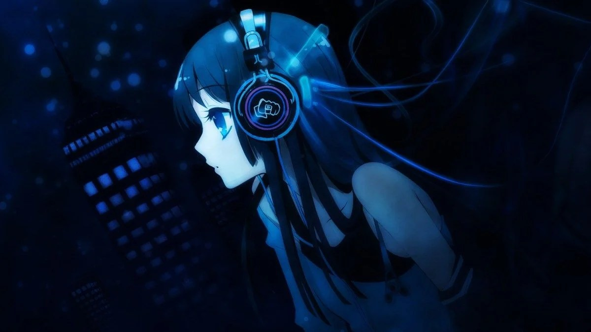 Blue Anime Wallpapers Top Free Blue Anime Backgrounds Wallpaperaccess