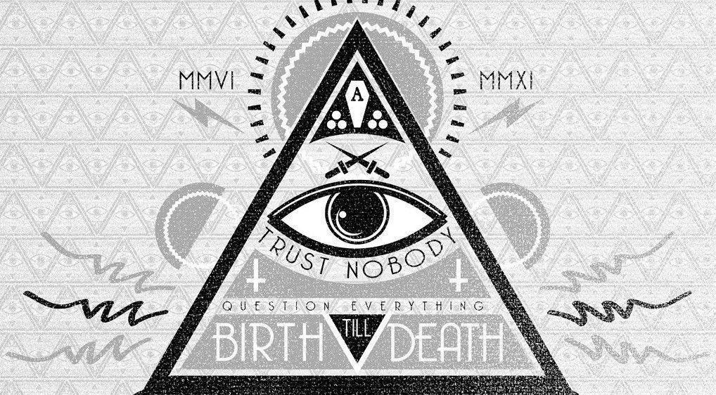 Wallpaper Illuminati Logo Design Novocom Top