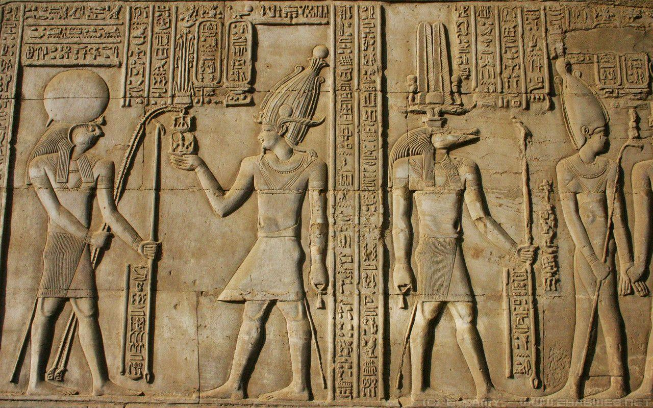 Egyptian Hieroglyphs Wallpapers