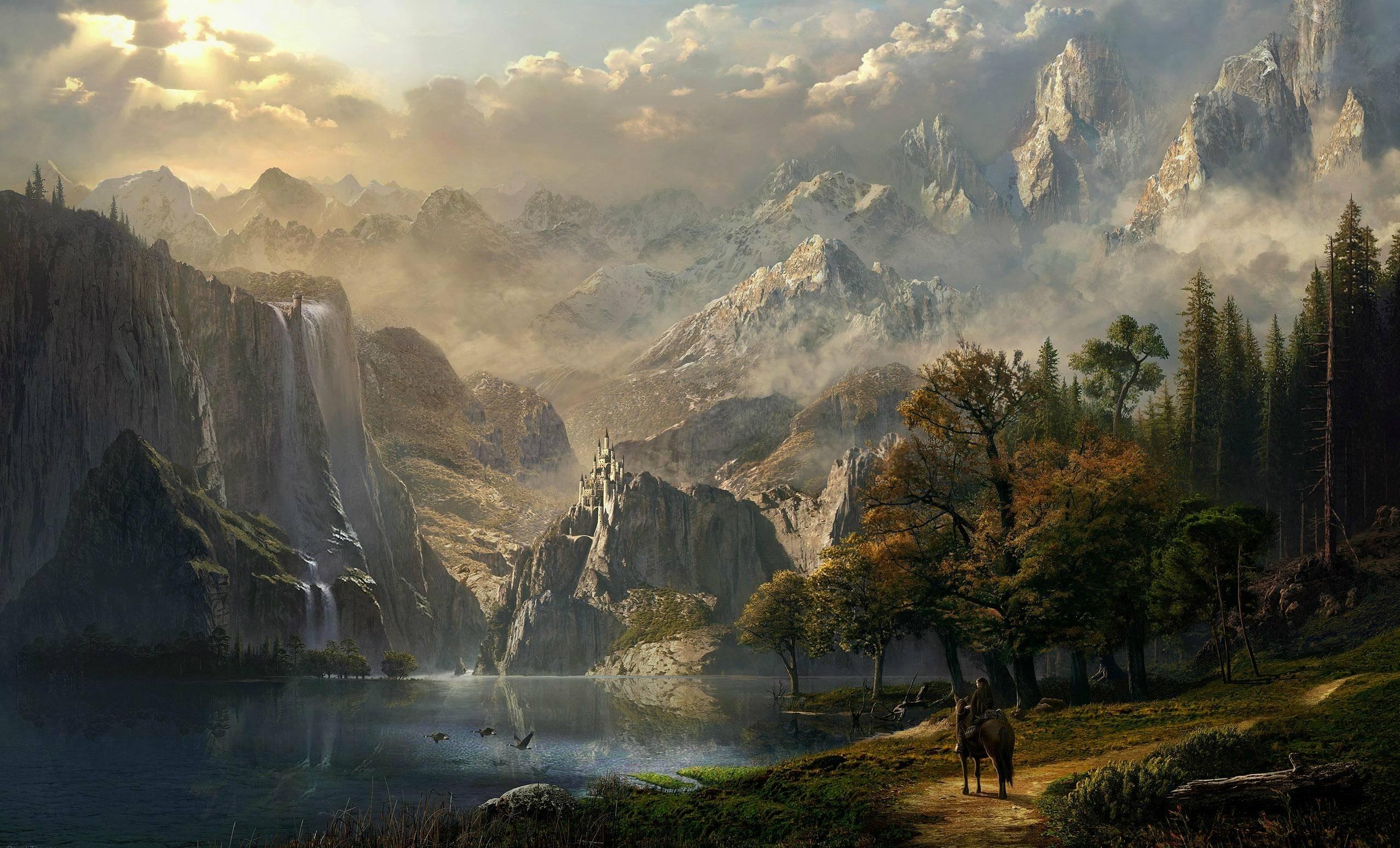 Epic Fantasy Wallpapers Wallpaper Cave