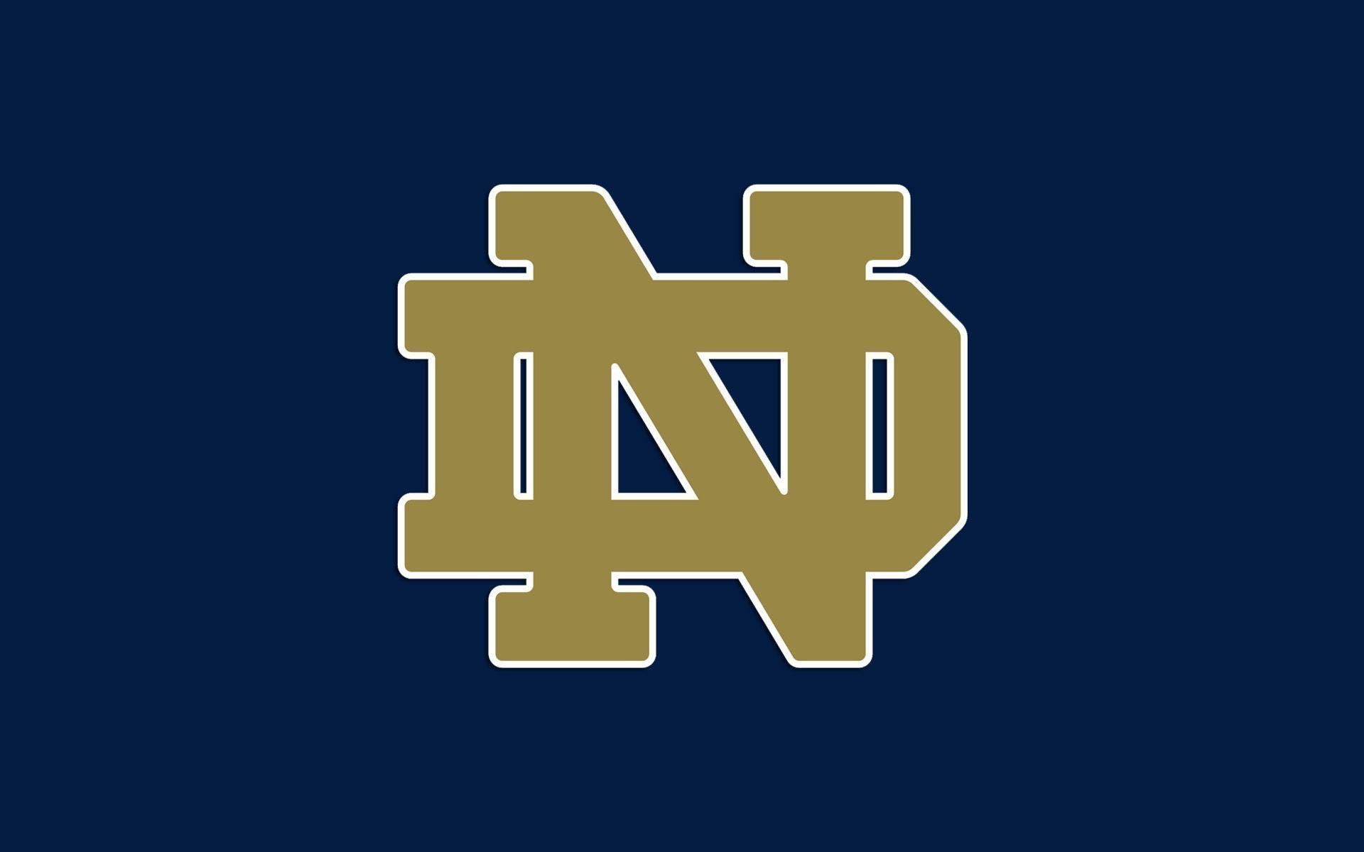 Image result for notre dame logo colored background