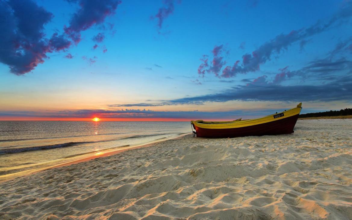Sunset Beach HD Wallpapers | Beach sunset Desktop Images | Cool ...