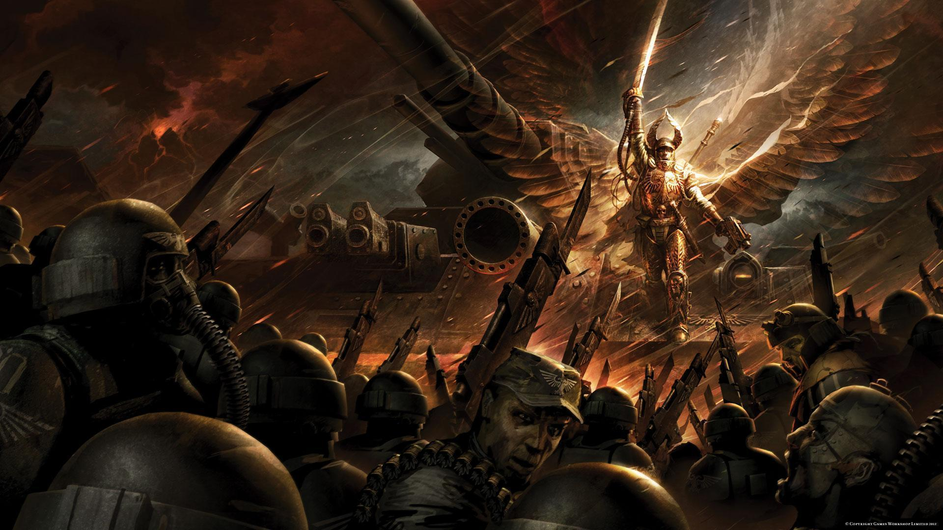 Warhammer 40k Wallpapers Wallpaper Cave