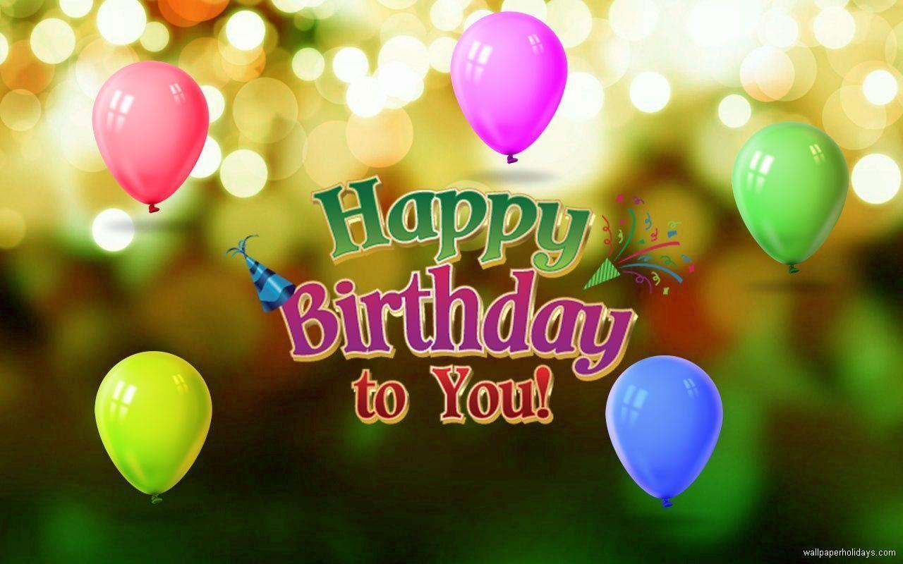 Happy Birthday Desktop Wallpapers Wallpaper Cave