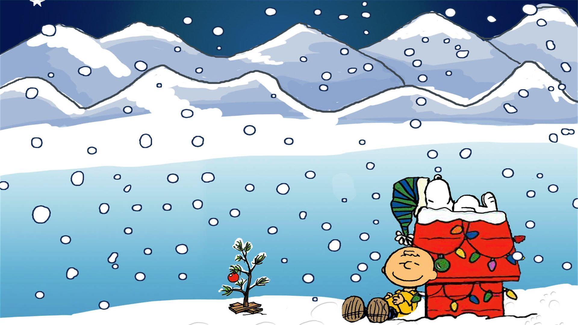 Charlie Brown Christmas Wallpapers Desktop Wallpaper Cave