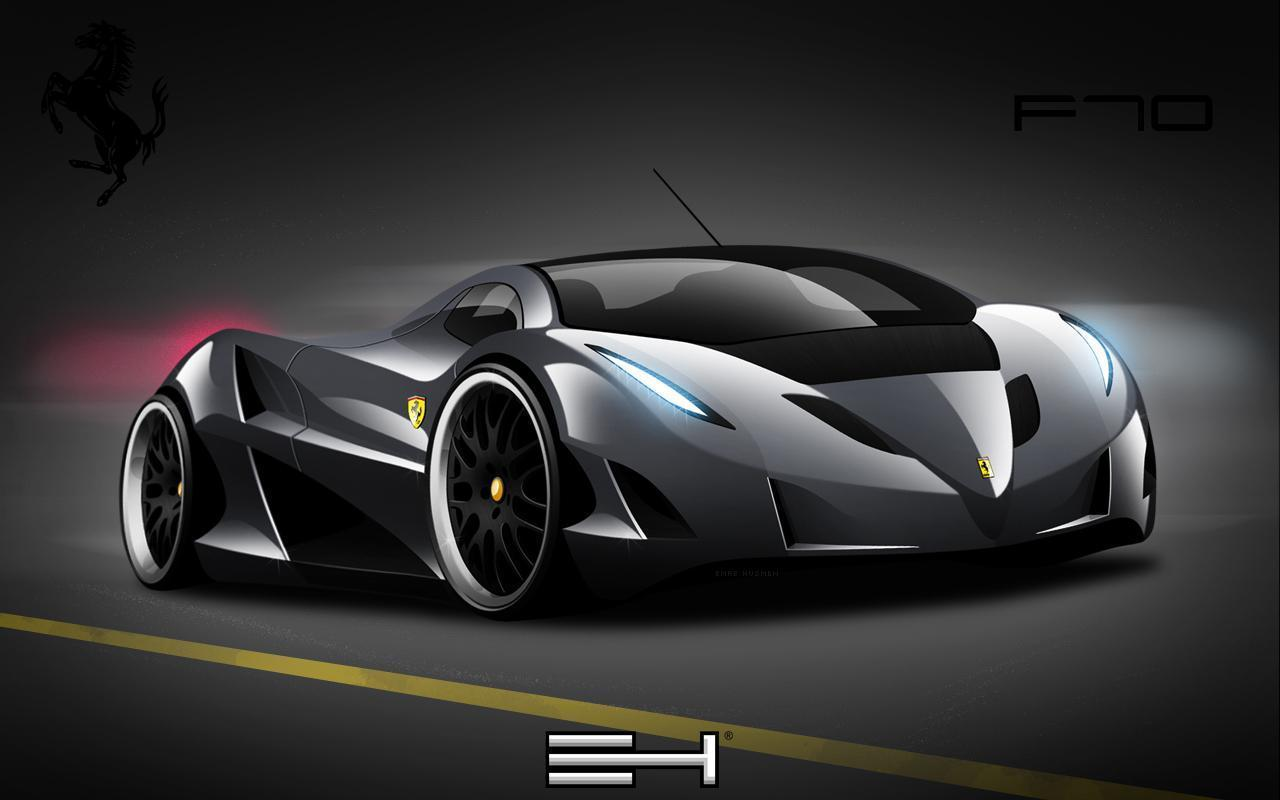 Black Ferrari Cars Wallpapers Wallpapers Gallery