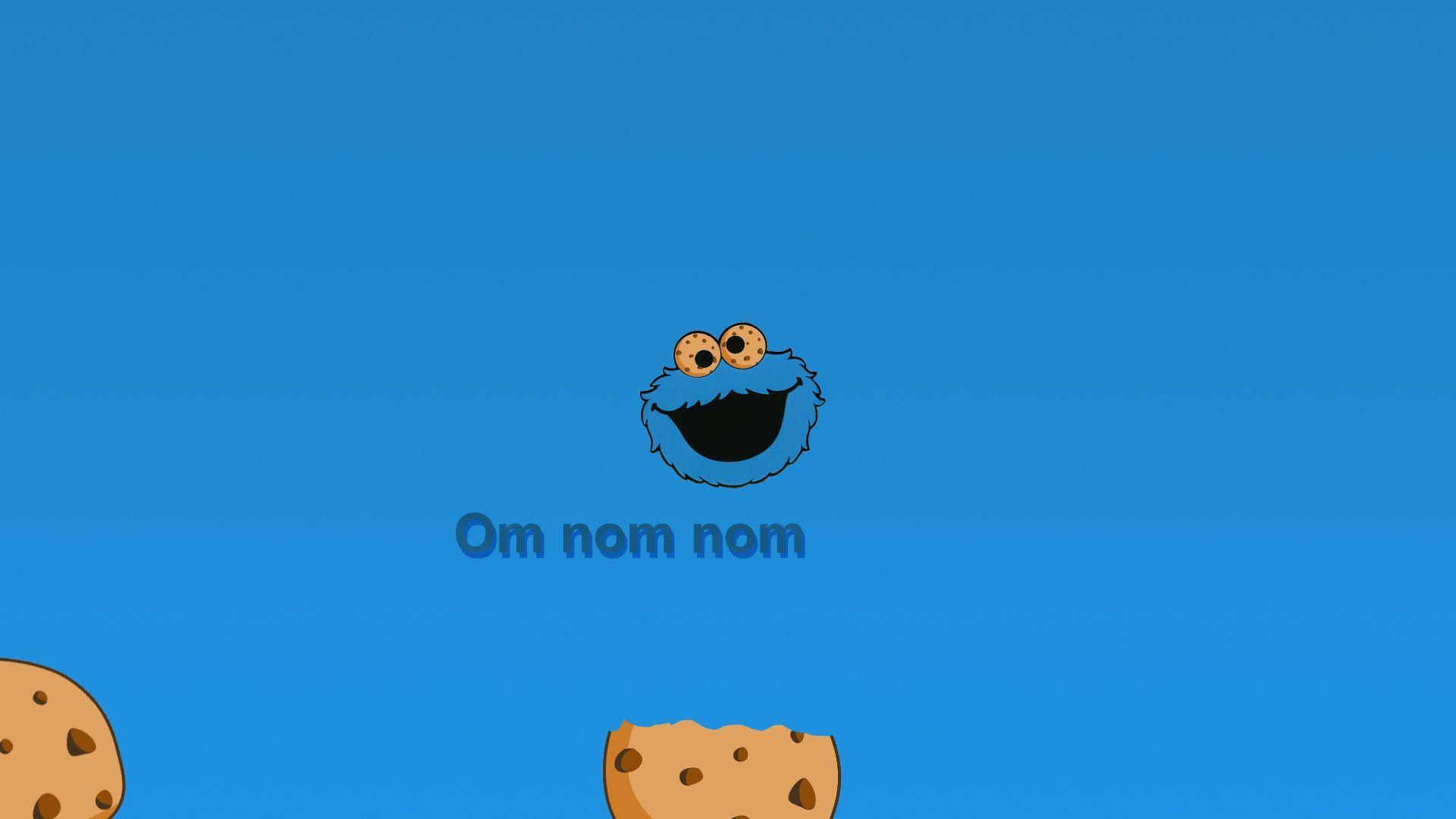 Cute Cookie Monster Wallpapers Wallpaper Cave