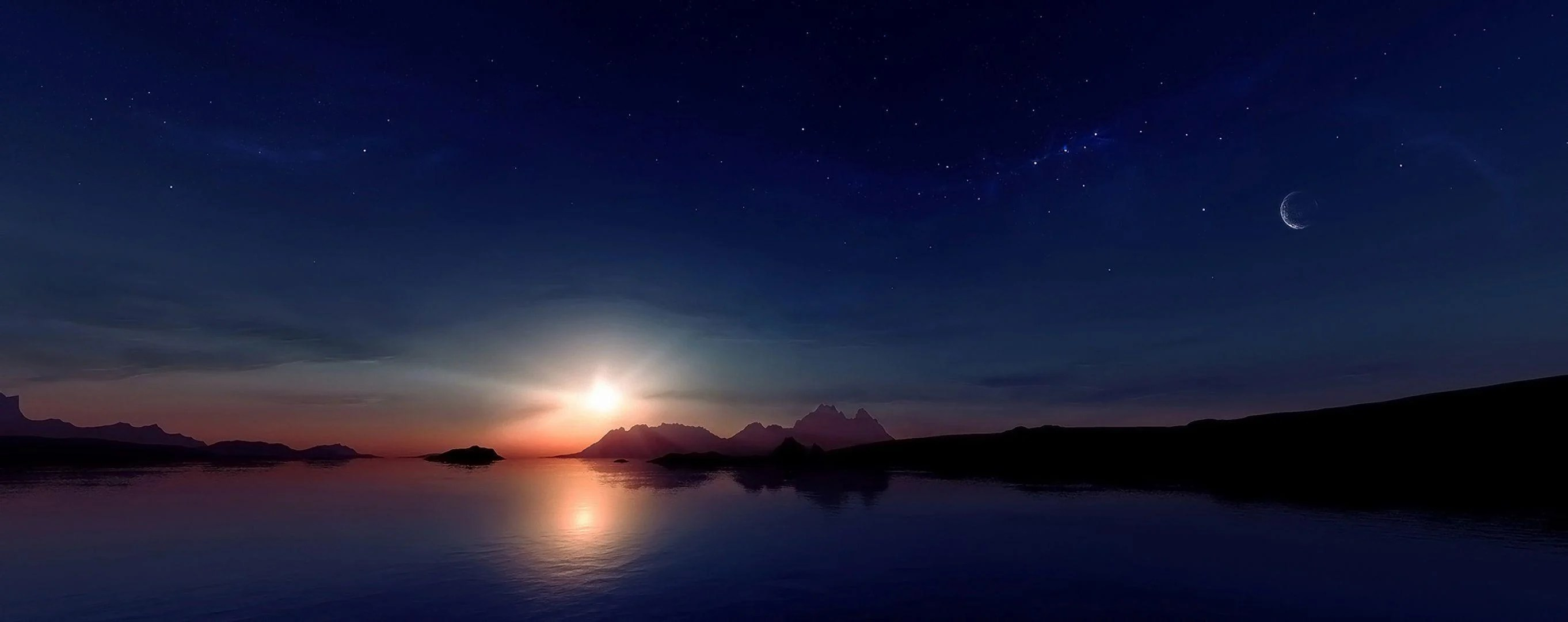 Sun Moon Stars Wallpapers