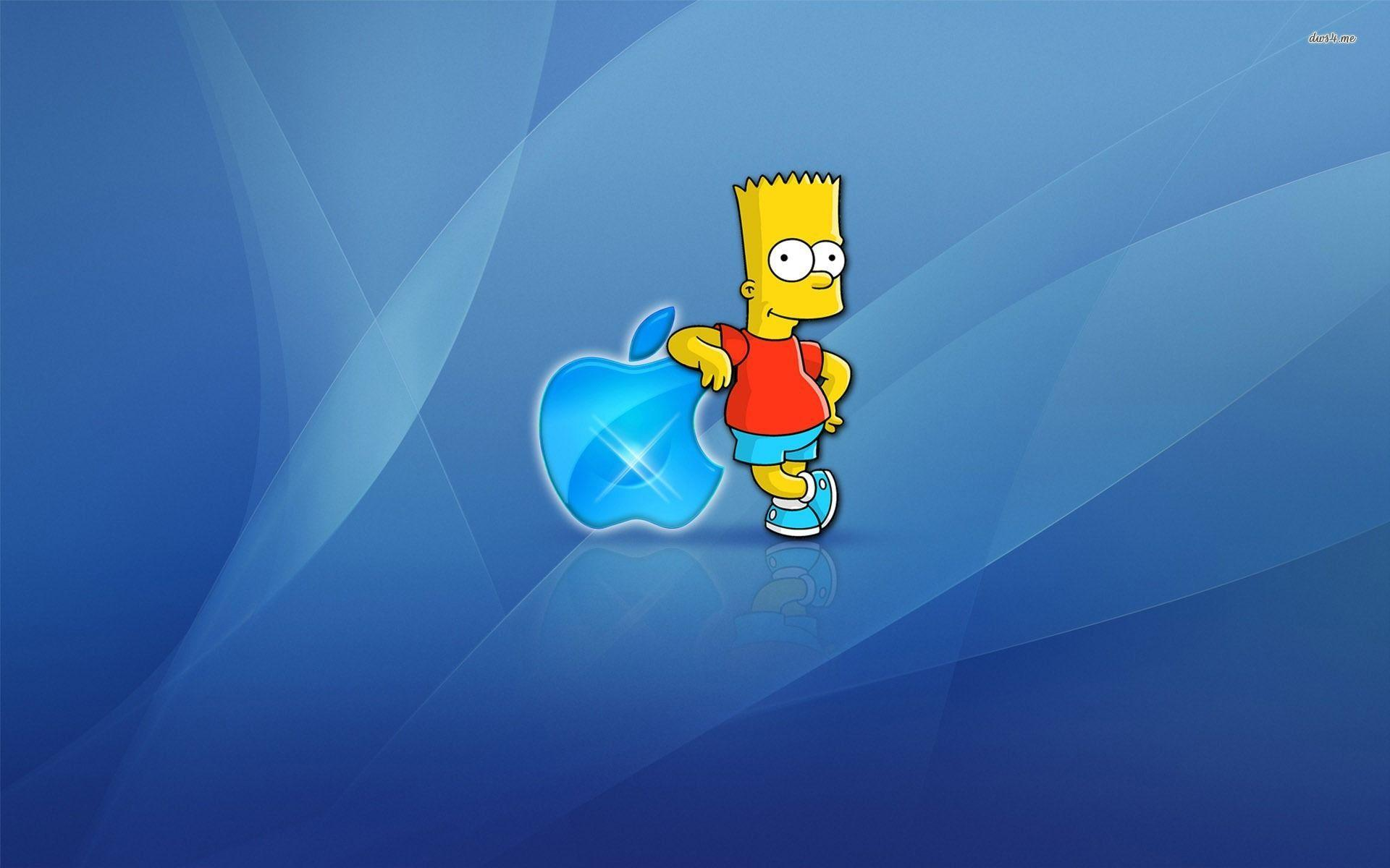 Homer Simpson Apple Wallpapers Wallpaper Cave