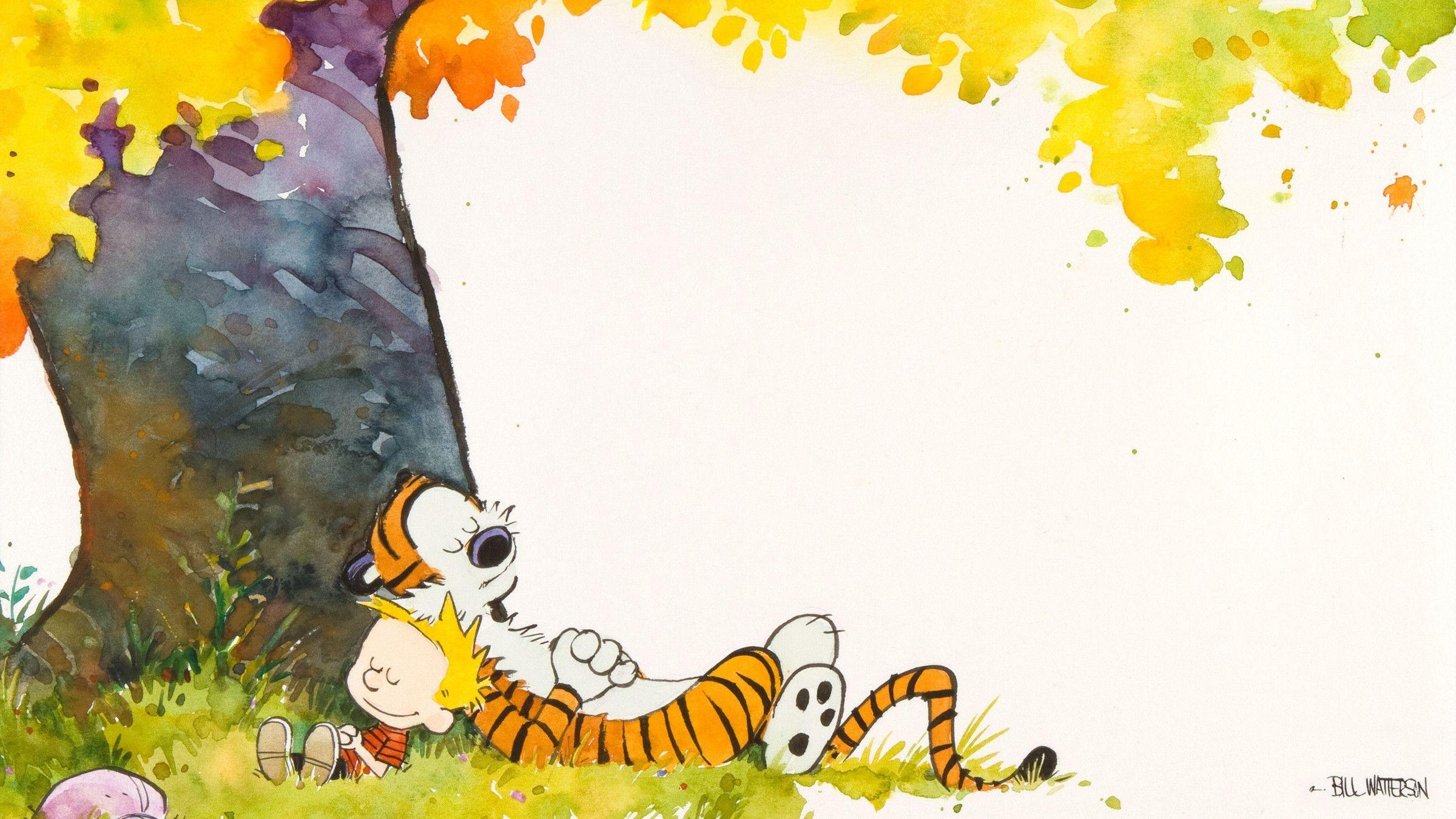 Calvin And Hobbes Wallpapers Wallpaper Cave