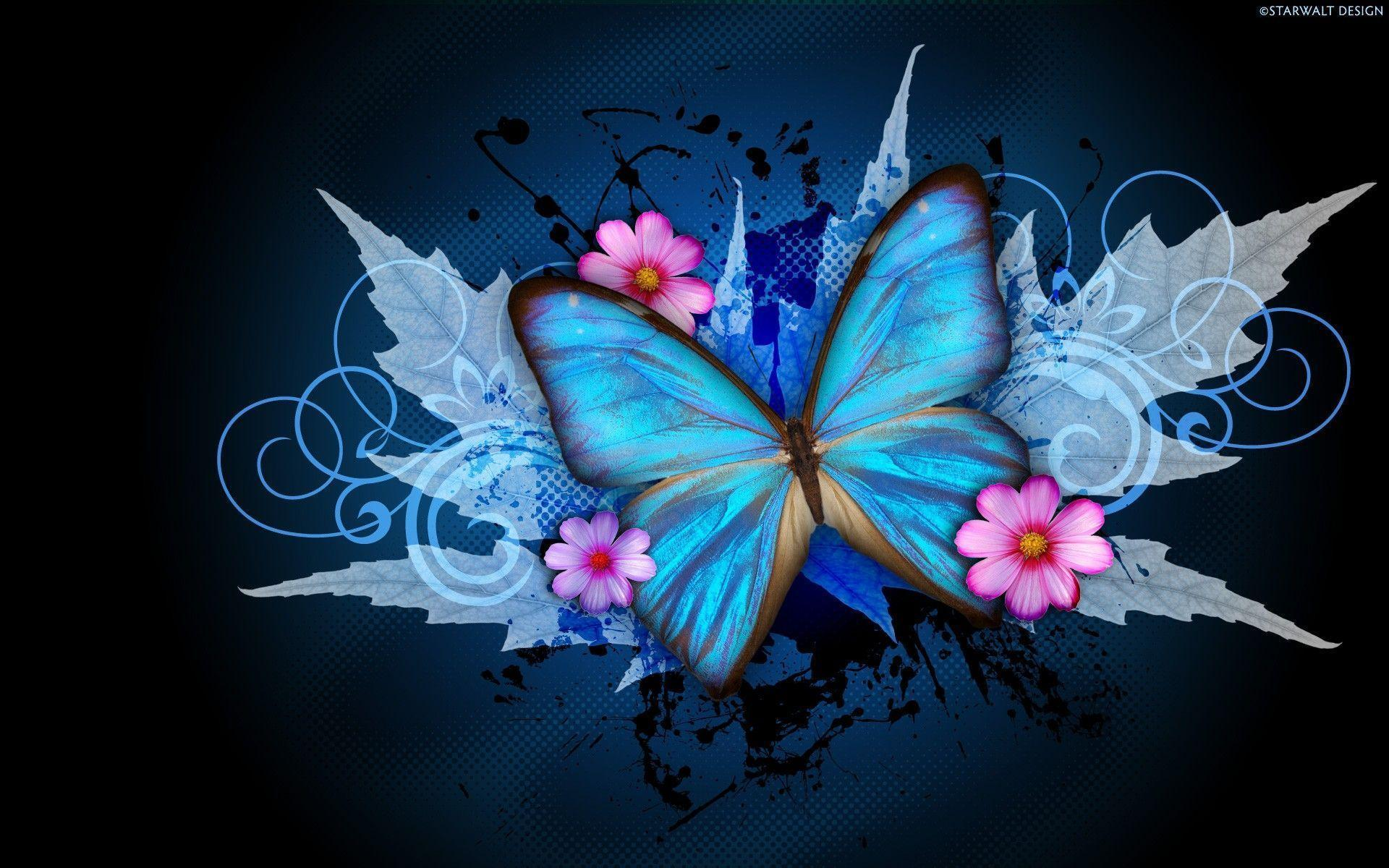 Abstract Butterfly Wallpapers   Wallpaper Cave Abstract Butterfly Wallpaper