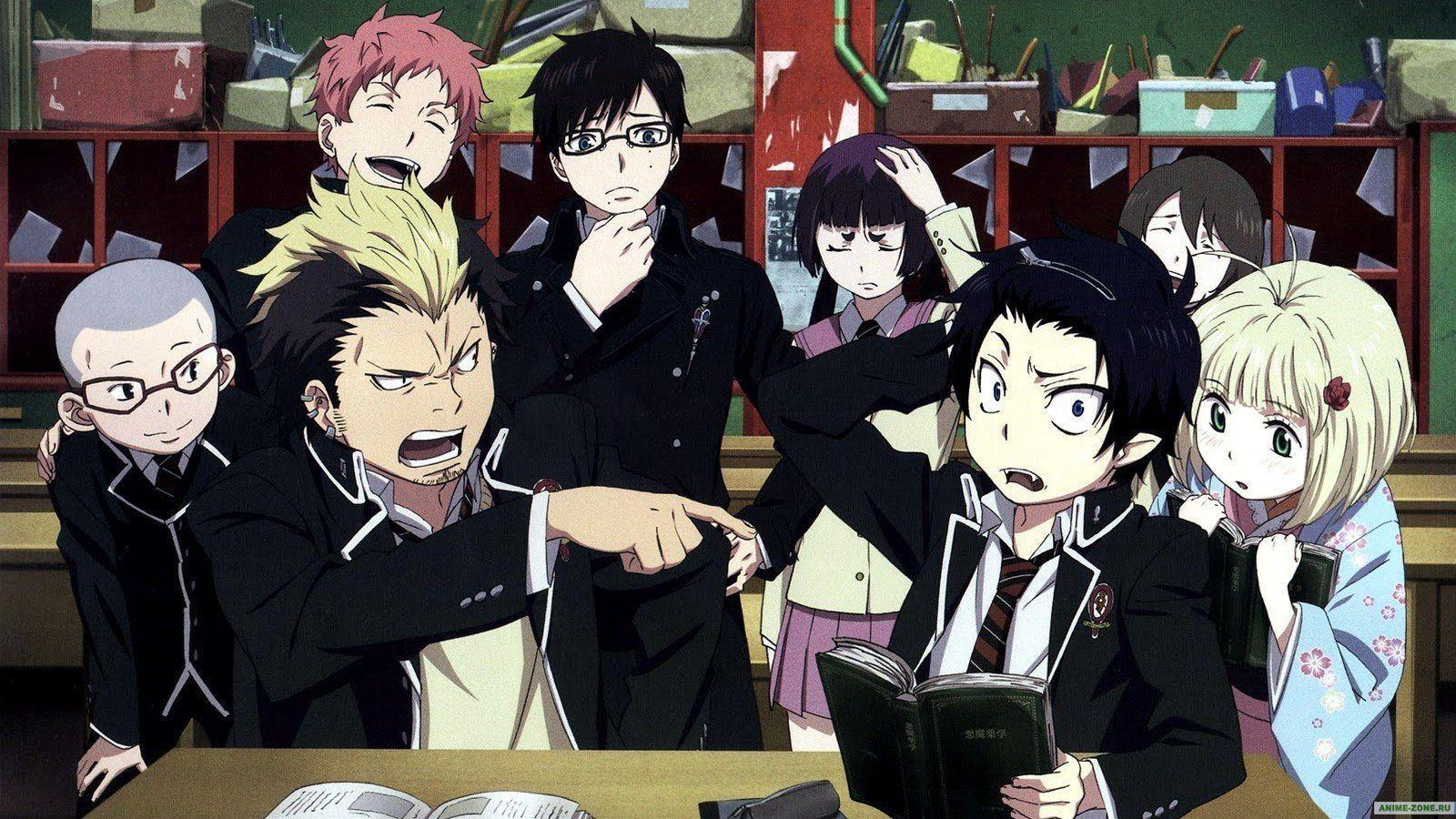 blue exorcist wallpapers wallpaper cave
