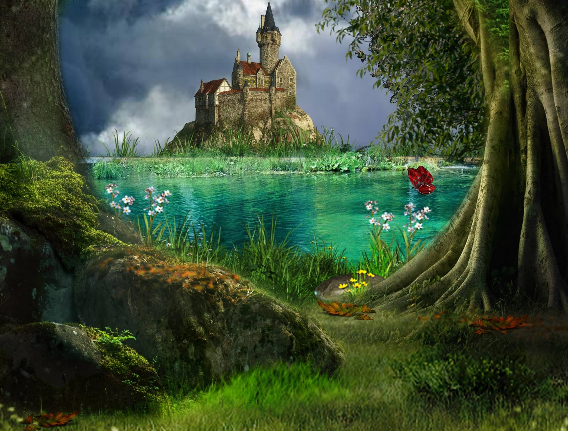 Fairy Tale Backgrounds