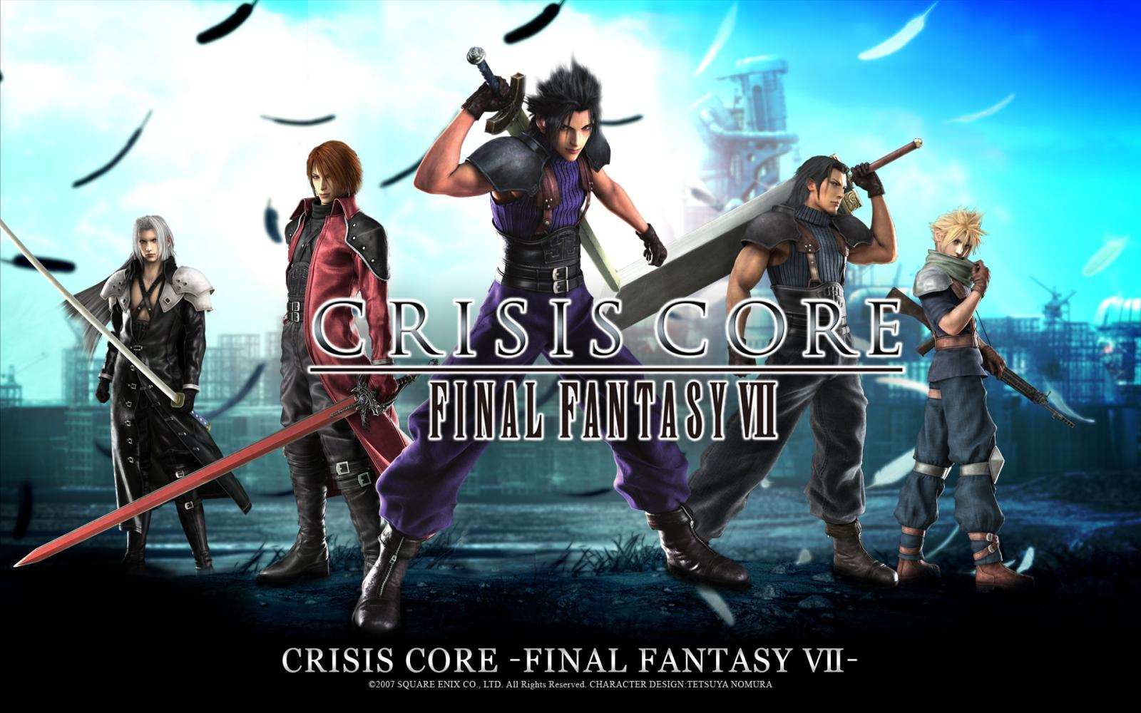 Image result for ffvii wallpaper crisis core