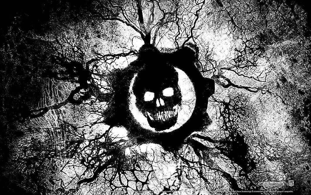 gears of war hd wallpaper 3 wallpapers cave skull