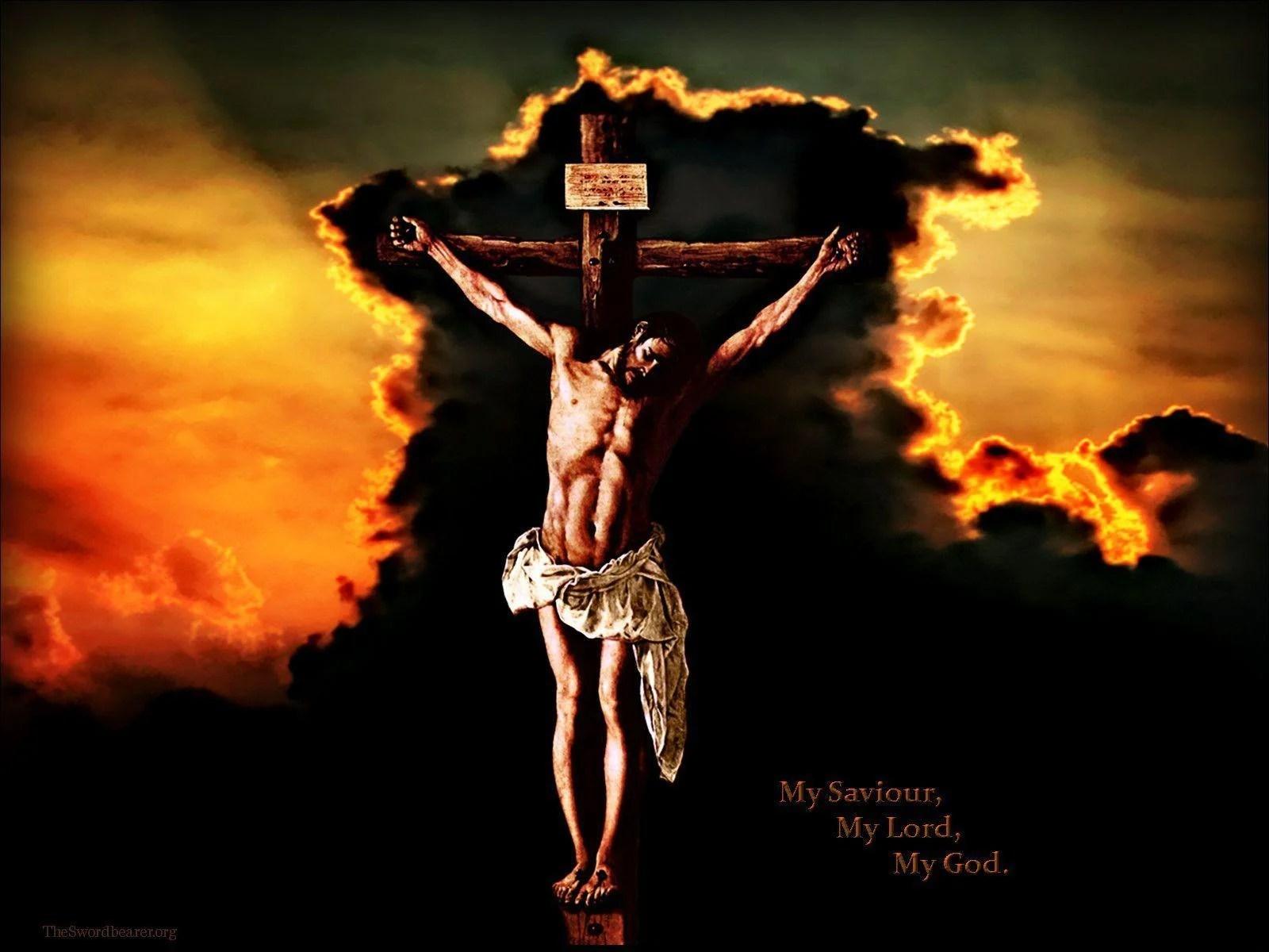 Resulta ng larawan para sa crucified jesus
