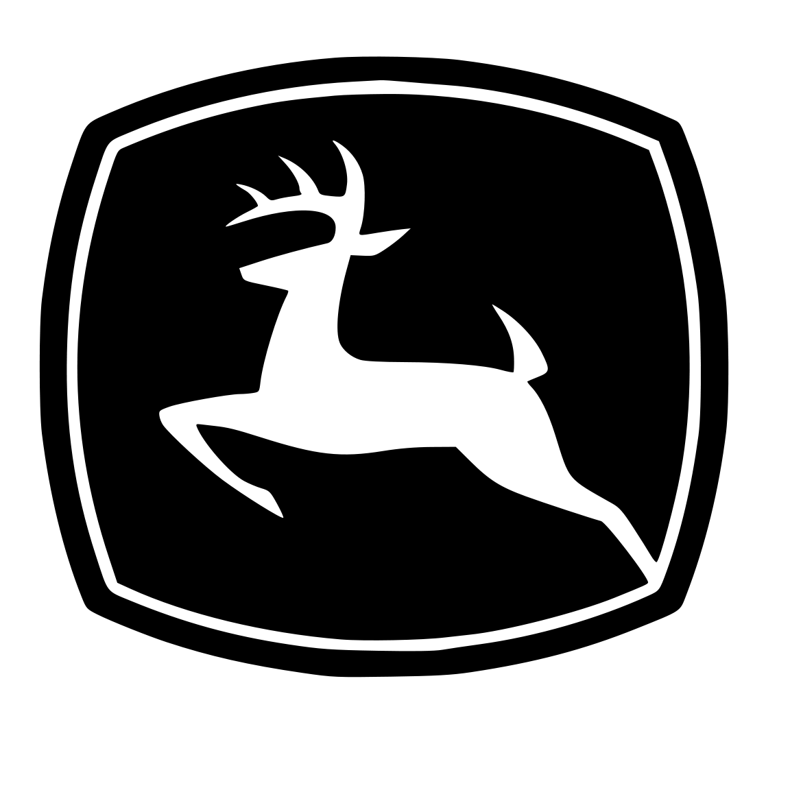 Black John Deere Logo Wallpaper