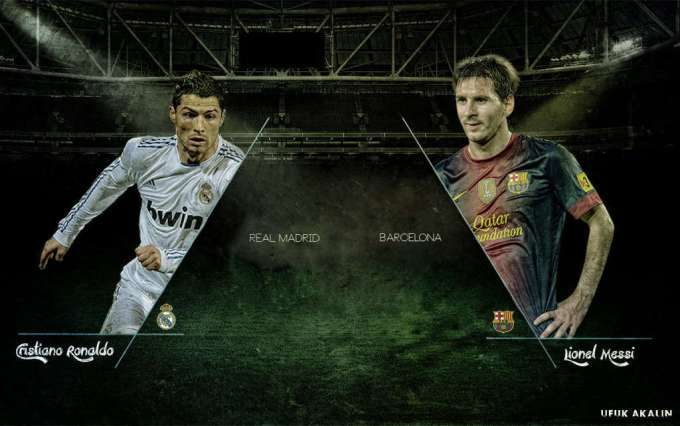 Messi Vs Ronaldo Wallpapers 2017 Wallpaper Cave