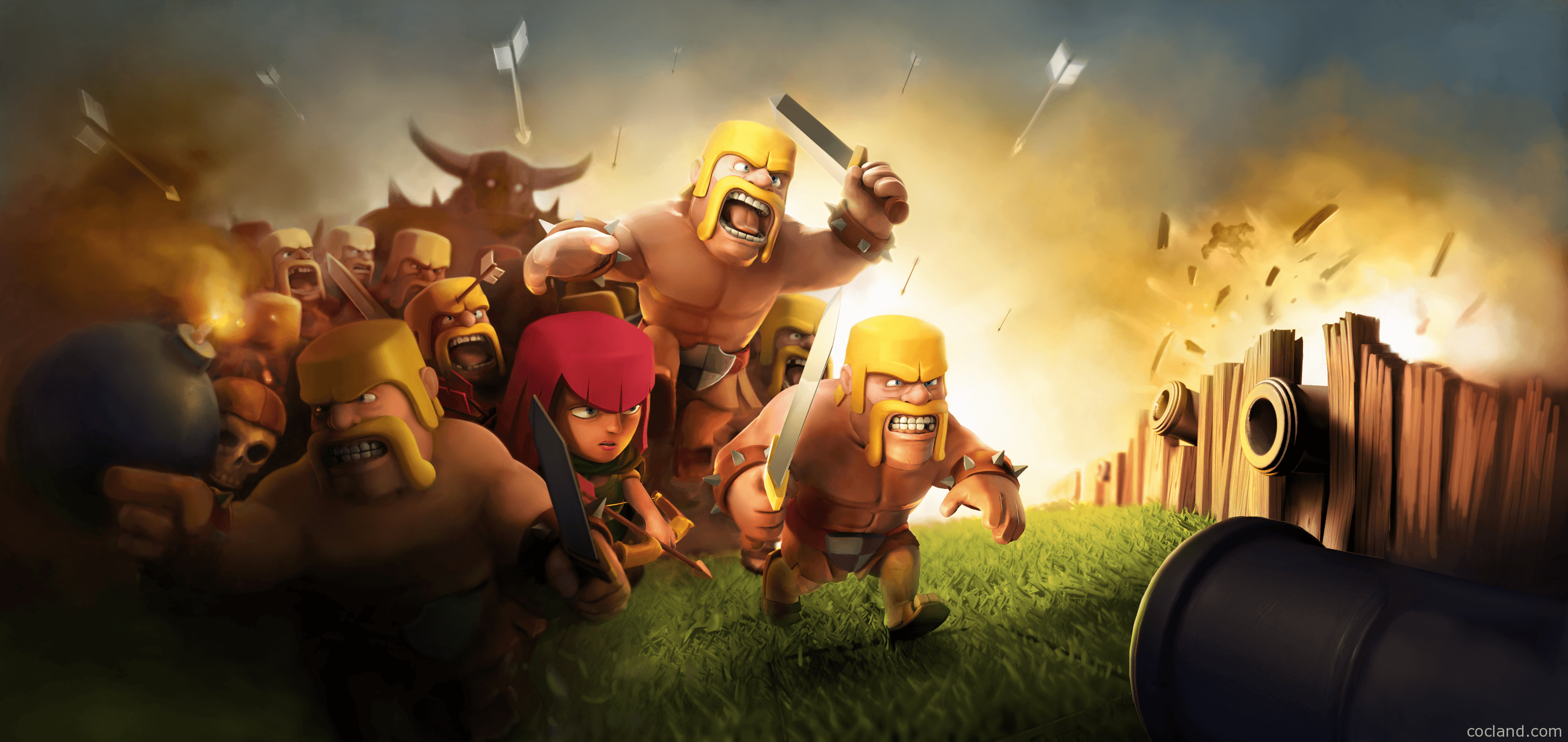Image result for clash of clans wallpaper