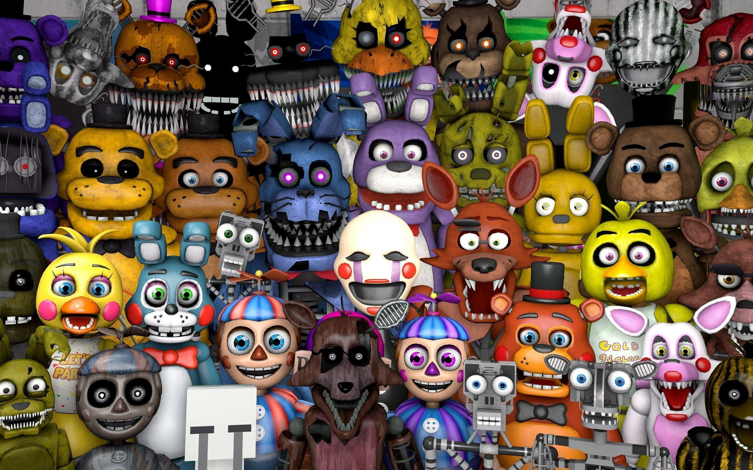 Five Nights At Freddys FNAF Wallpapers Wallpaper Cave