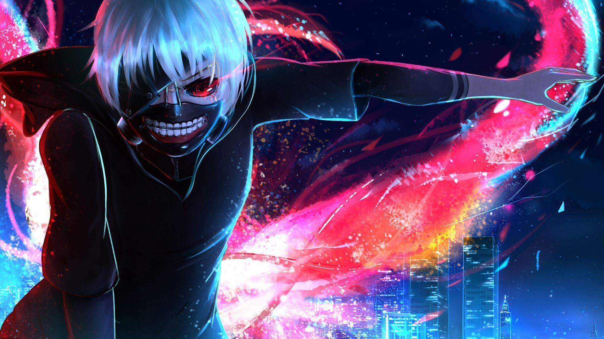 Ps4 Anime Tokyo Ghoul Wallpapers Wallpaper Cave