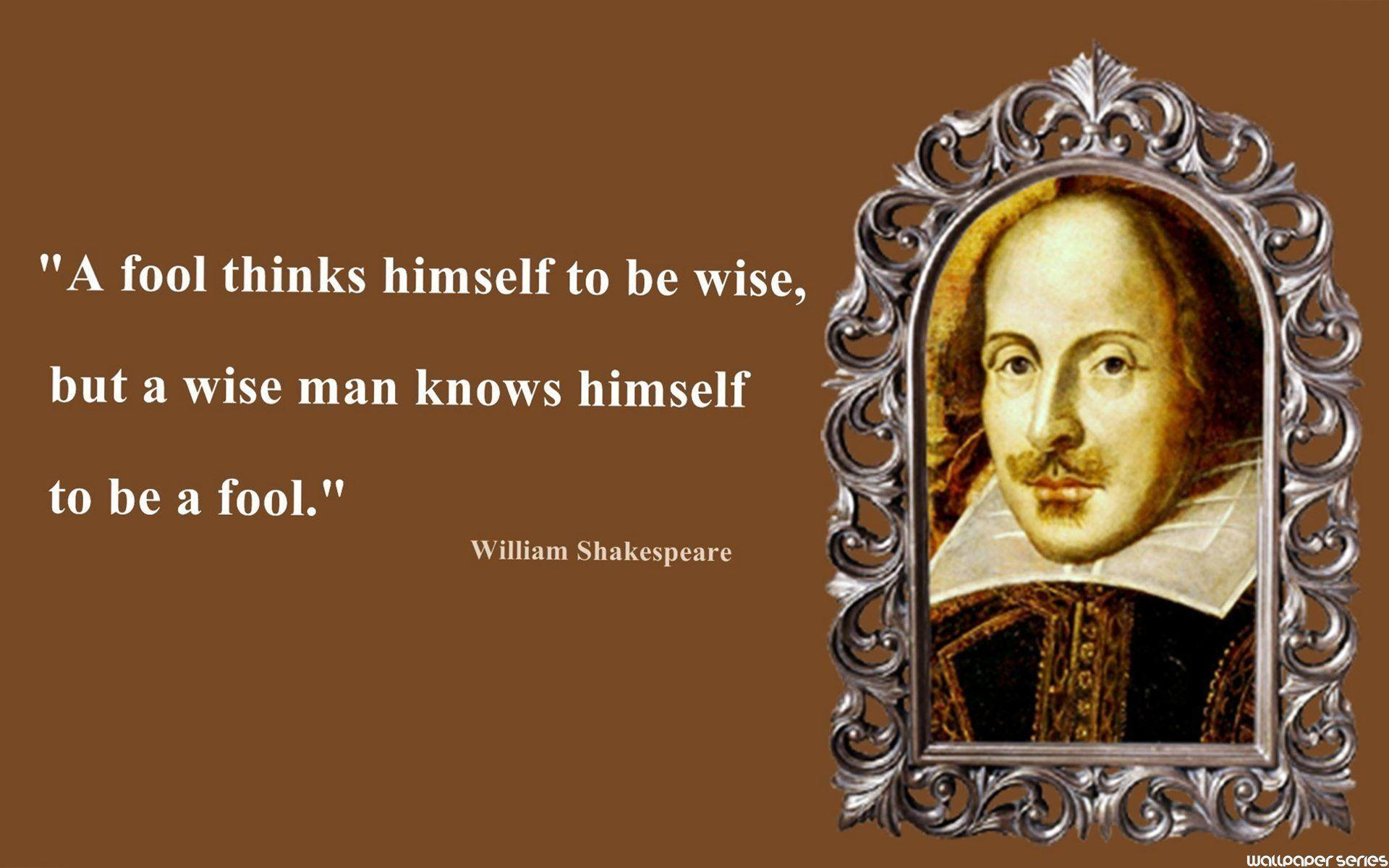 Shakespeare Wallpapers