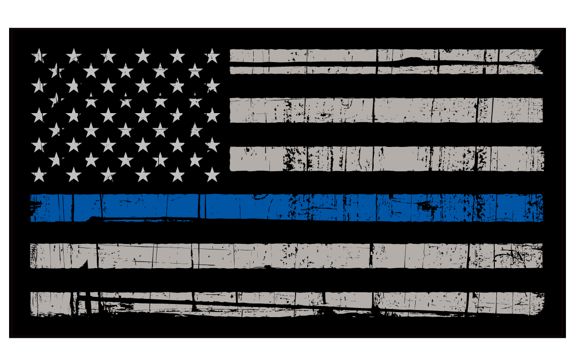 Blue Lives Matter Computer Background
