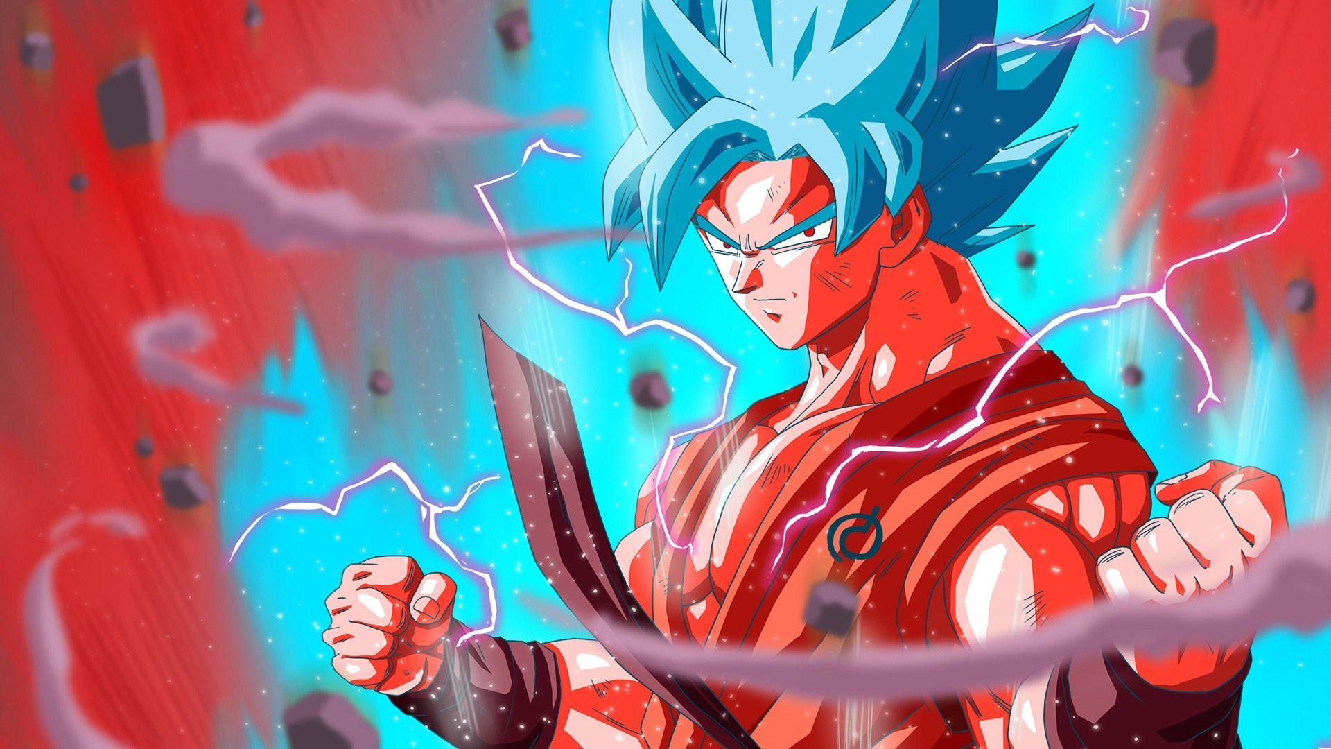 Goku Super Saiyan Blue Wallpapers