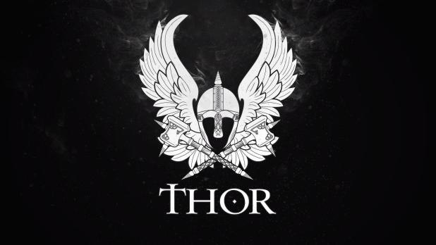 Thor Logo Wallpapers Wallpaper Cave