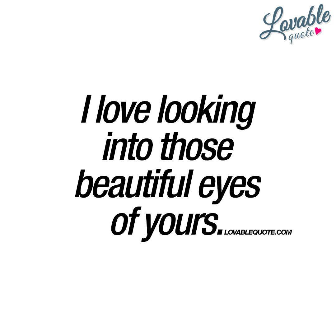 In Your Eyes Poem