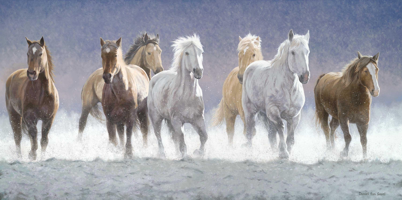 Seven Horses Wallpapers