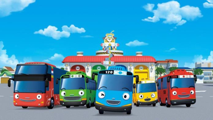 Tayo The Little Bus Wallpapers - Wallpaper Cave