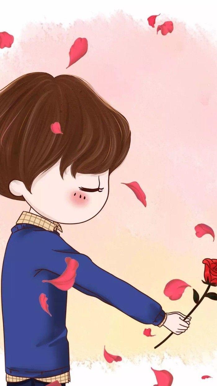 Download Wallpaper Couple Gambar Kartun Comel Hd Cikimm Com