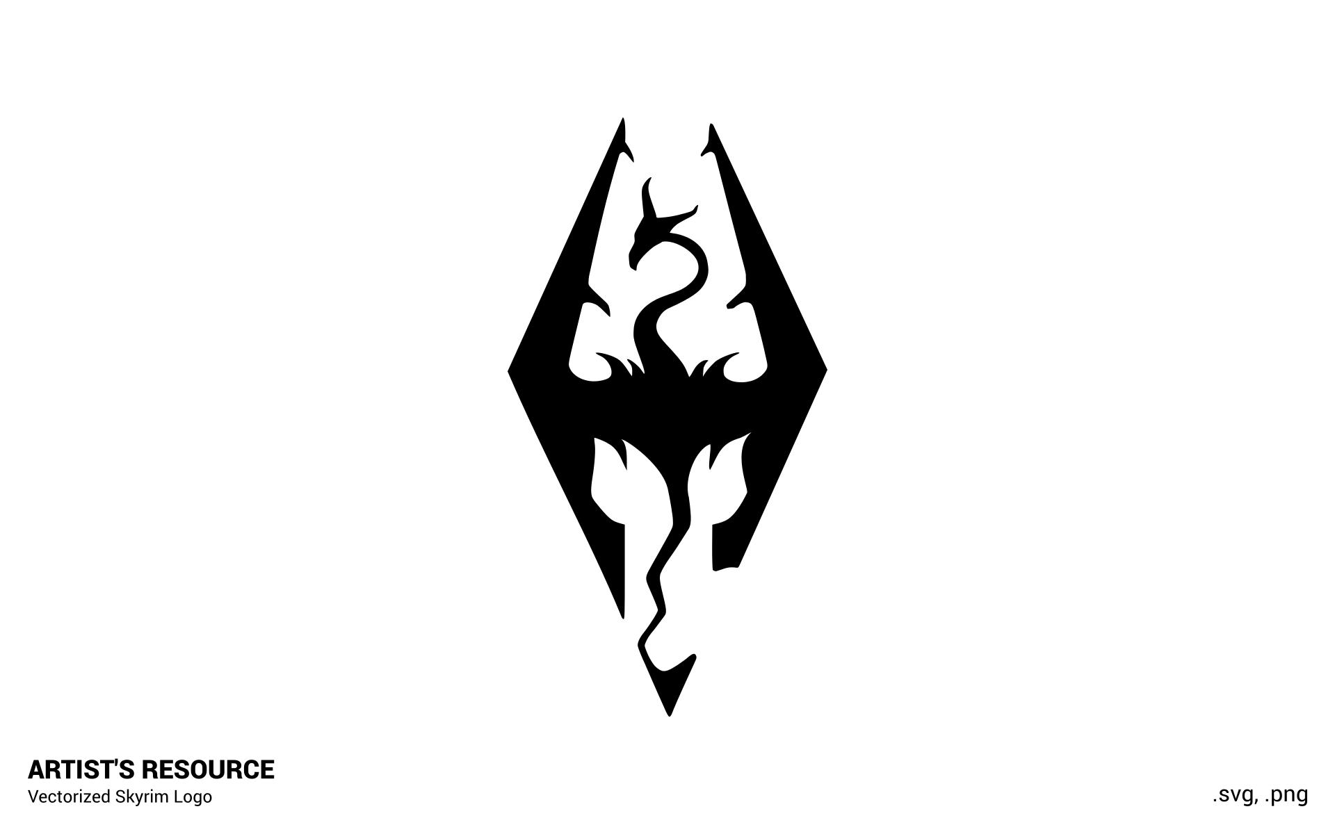 Skyrim Logo Wallpapers