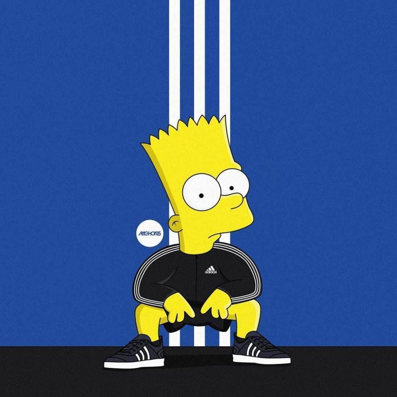 Supreme Wallpaper Bart Simpson Fitrini S Wallpaper